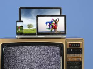 Broadcasters TV is being replaced by multiscreen.