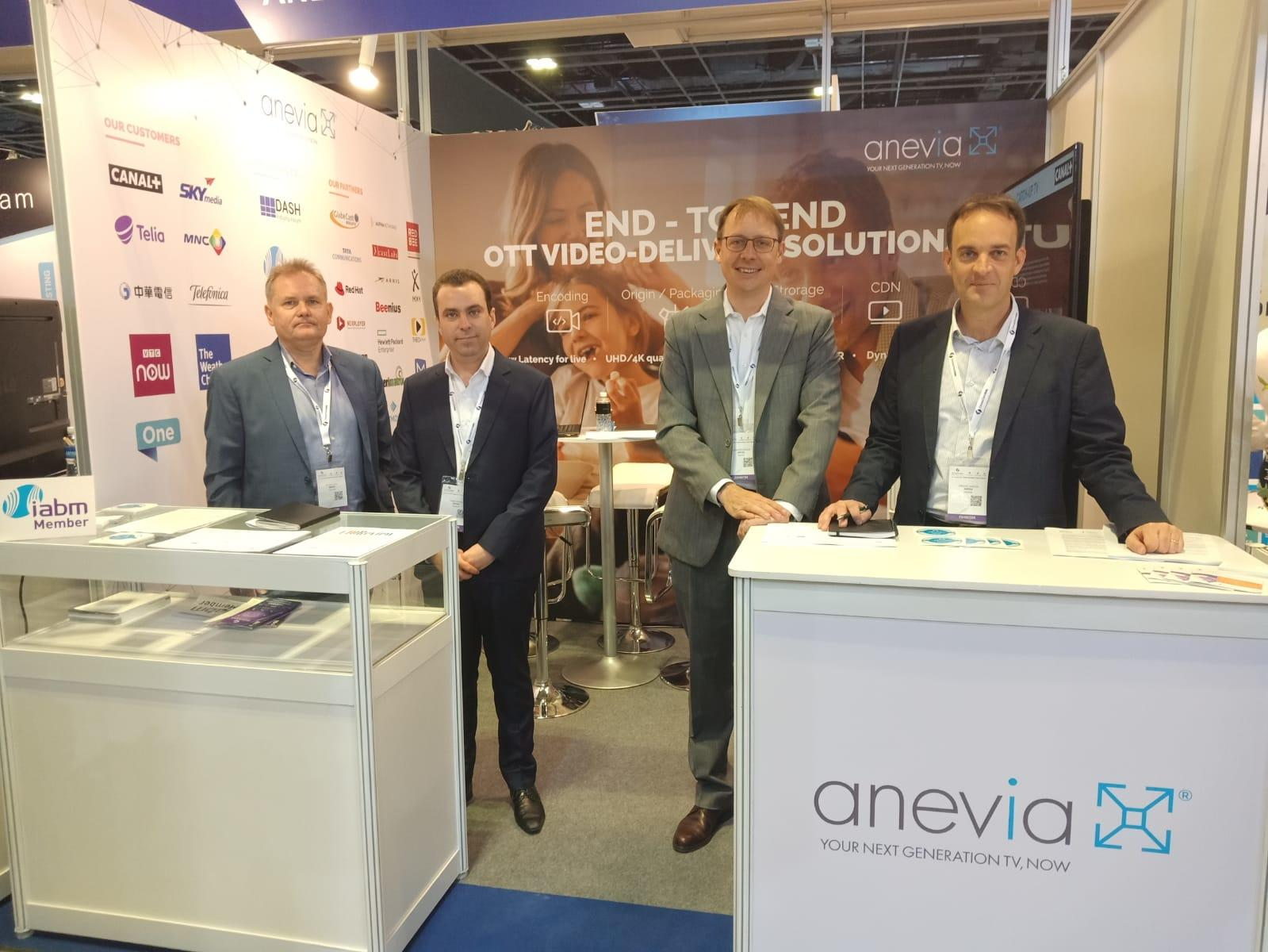 4 people from Anevia involved in OTT in Asia Pacific